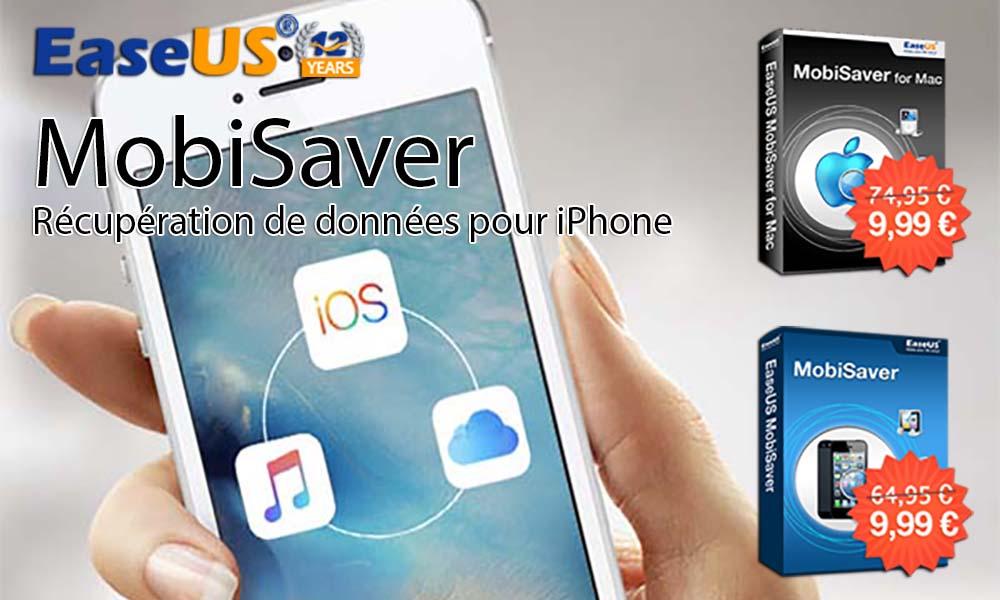 Bon Plan : EaseUS MobiSaver à seulement 9,99 € au lieu de 74,95 € !