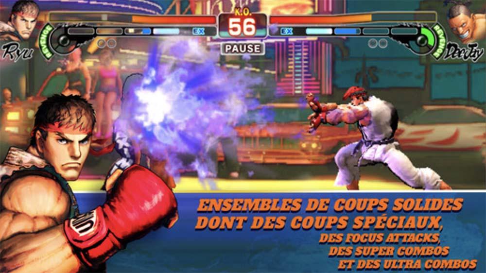Les combats de Street Fighter IV Champion Edition maintenant sur iOS !