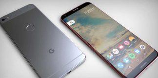 Concept du Google Pixel XL 2, un savant mélange d'iPhone et de LG [Vidéo]