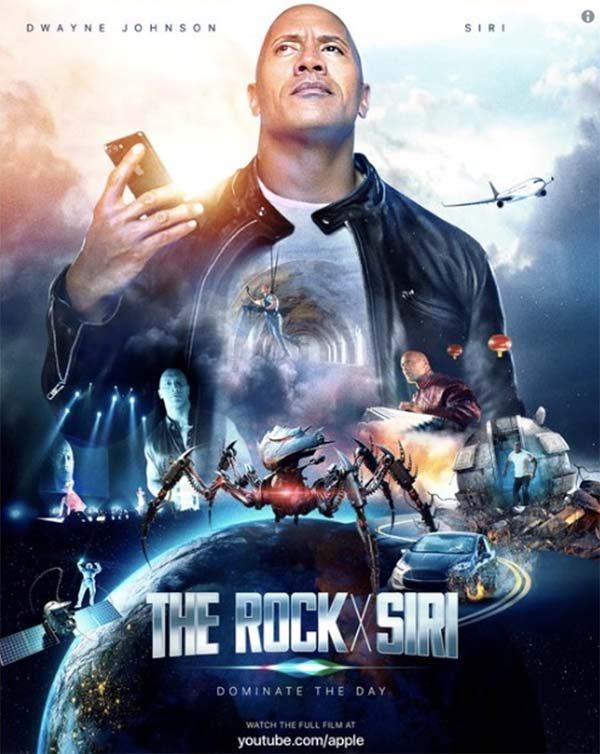 Siri partagerait l'affiche du prochain film de Dwayne Johnson — L'image du soir
