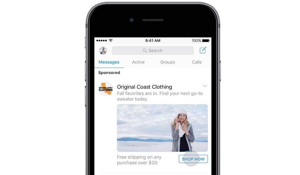 Facebook Messenger affichera bientôt des publicités