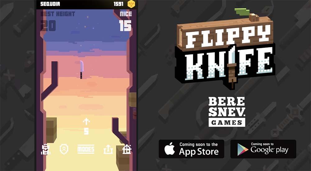 Flippy Knife, un nouveau jeu de lancer de couteaux bientôt sur iOS [Vidéo]