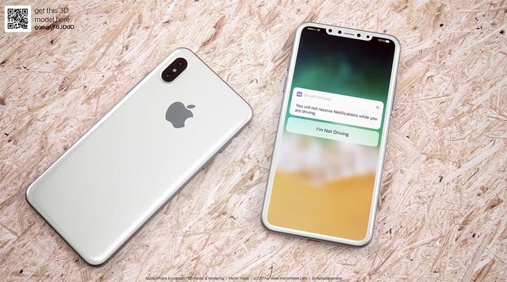 Fuites iPhone 8 : nouvel emplacement du Touch ID, un nouveau nom et plus encore