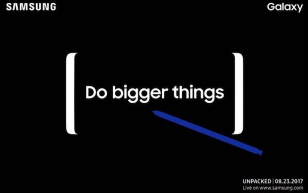 Galaxy Note8 : une présentation officielle par Samsung prévue fin août !
