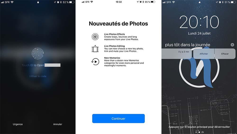 iOS 11 bêta 4 : voici la liste de toutes les nouveautés