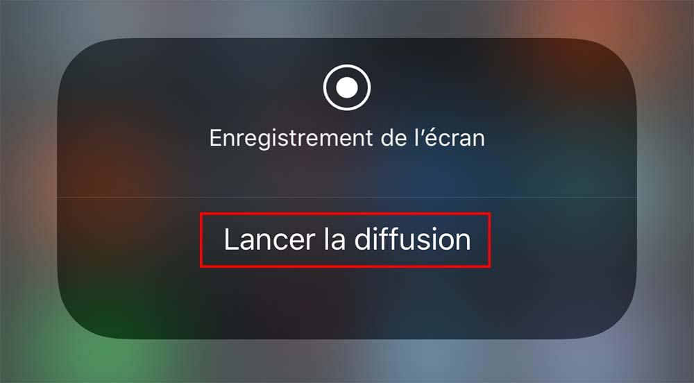 iOS 11 permettrait de diffuser du contenu vidéo en direct