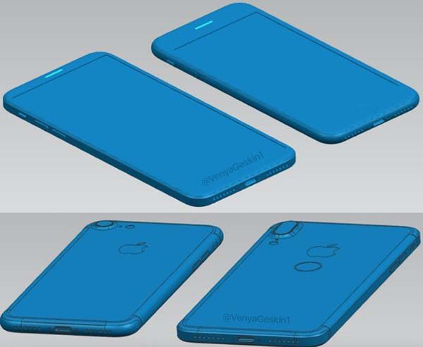 iPhone 8 : de nouvelles fuites montrent un Touch ID au dos !