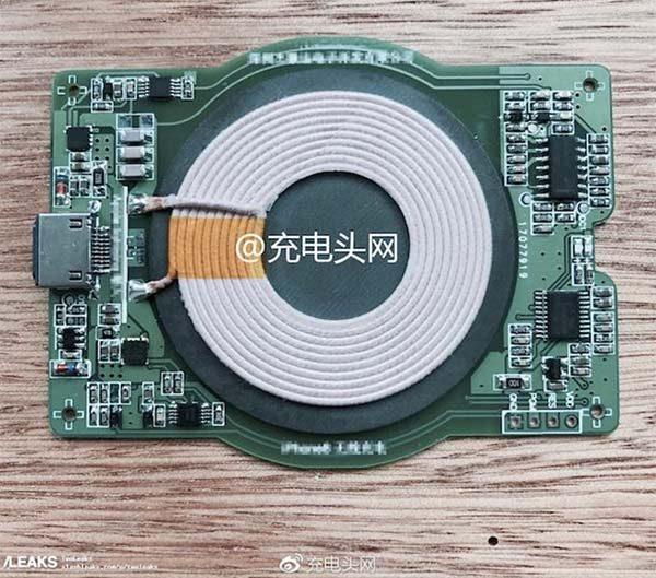 iPhone 8 : voici le supposé composant de la recharge sans fil