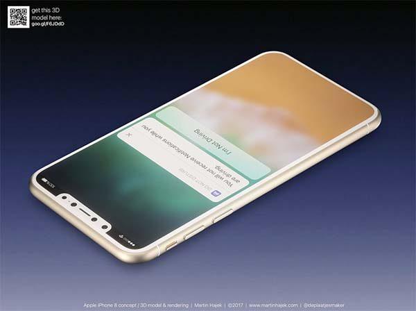 iPhone 8 : voici un magnifique concept réalisé par Martin Hajek