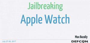 Le jailbreak de l'Apple Watch est possible, voici le processus !