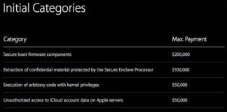 Le « Bug Bounty » d'Apple n'est pas assez rémunérateur d'après les experts en sécurité