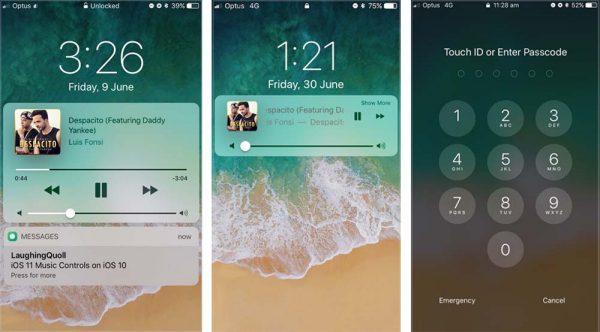 LockscreenXI apporte l'écran verrouillé iOS 11 sur iOS 10