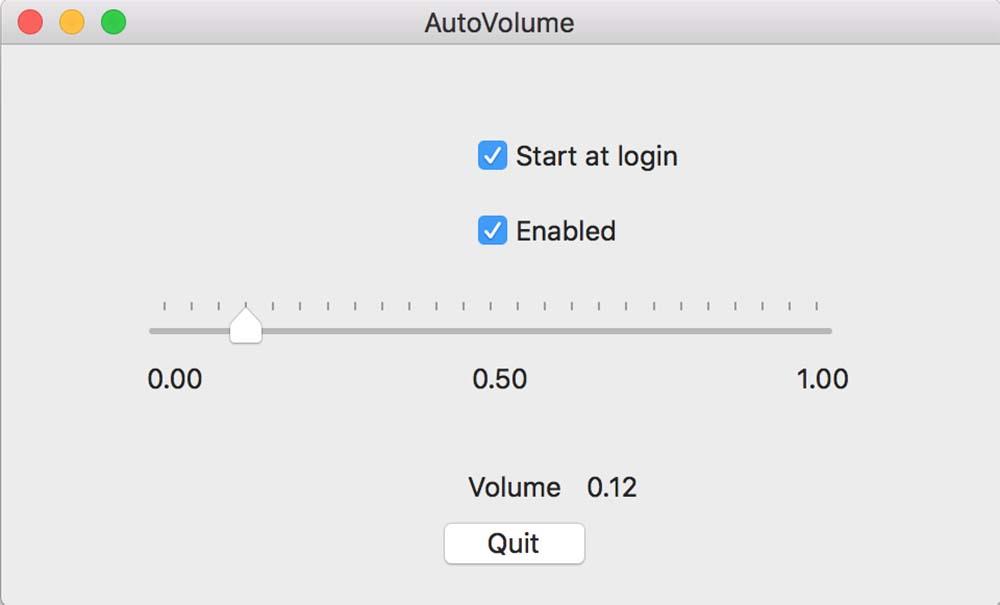 macOS Sierra 10.12 - AutoVolume - Régir le son d'un MacBook