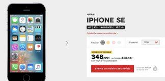 Bon Plan SFR : iPhone SE à seulement 349€ au lieu de 489€ !
