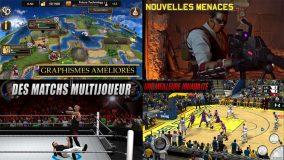 Promo jeux iOS : Civilization Revolution 2, NBA 2K17, WWE 2K, XCOM : Enemy Within