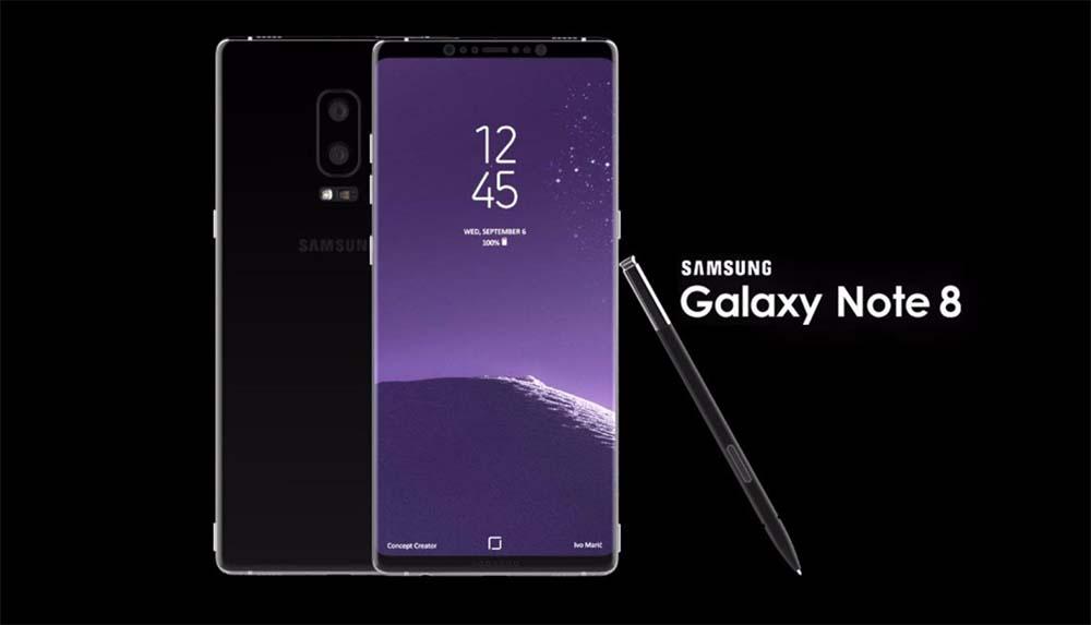 Samsung avancerait la commercialisation de son Galaxy Note8