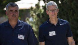 Tim Cook et Eddy Cue étaient présents à la conférence Allen & Company à Sun Valley