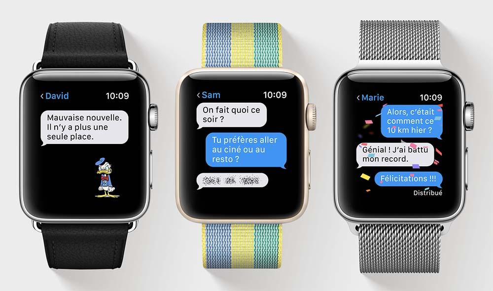 La troisième bêta de watchOS 4 est disponible