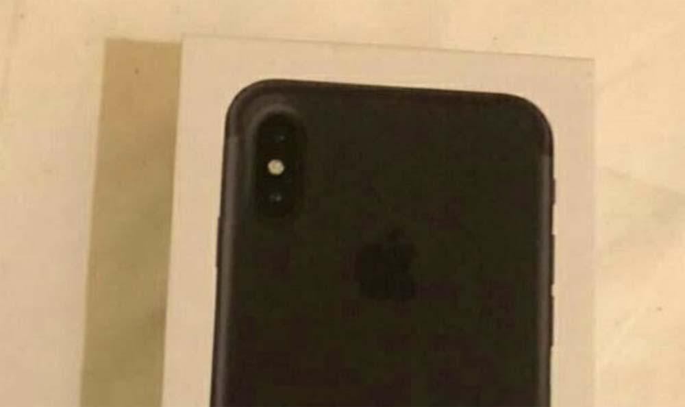 Voici la supposée boîte de l'iPhone 8 !