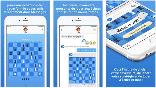 App de la semaine : Apple vous offre le jeu Échec et mat!