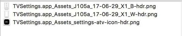 Des traces de l'Apple TV 4K dans le code d'iOS 11 !