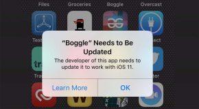 187 000 applications sont actuellement incompatibles avec iOS 11