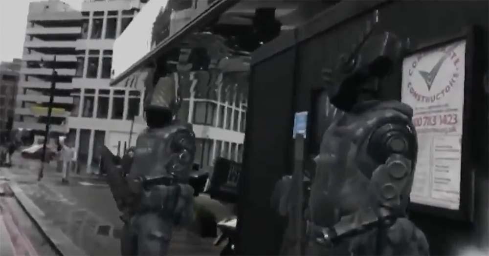 ARKit : quand des robots armés sillonnent les rues en réalité augmentée [Vidéo] - iPhonote - Actualités Apple et High Tech