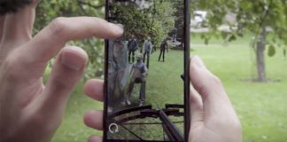Apple fait la promo d'apps ARKit dont The Walking Dead, Ikea, et GIPHY