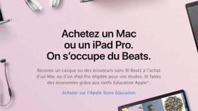 Back to School 2017 : Apple offre des produits Beats en France et ailleurs en Europe !