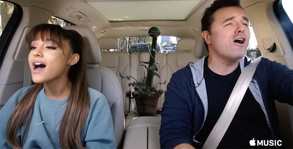 Apple publie deux nouvelles vidéos de Carpool Karaoke, bientôt sur Apple Music