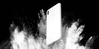 Et voici la très belle version céramique de l'iPhone 8 !