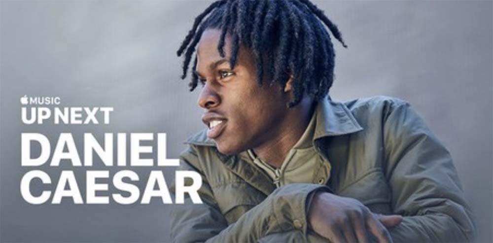 Up Next - épisode 3 : Apple vous invite à découvrir Daniel Caesar sur Apple Music