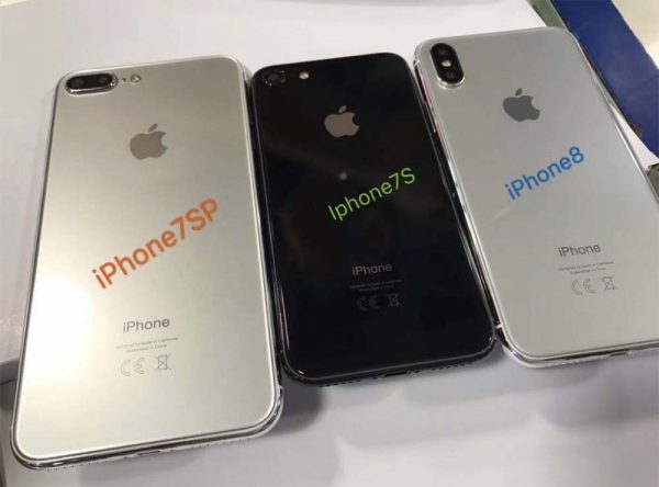 Et voici les iPhone 8, iPhone 7s et iPhone 7s Plus en photo avant la keynote !