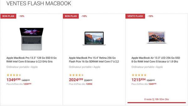 Fnac 10 De Remise Sur Tous Les Macbook Et Imac