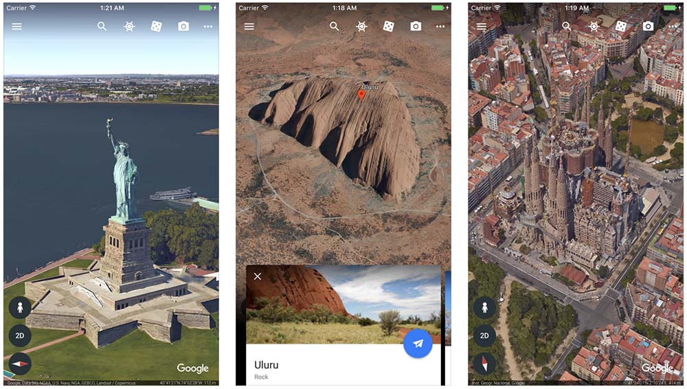 Google Earth passe enfin au 64 bits pour supporter iOS 11
