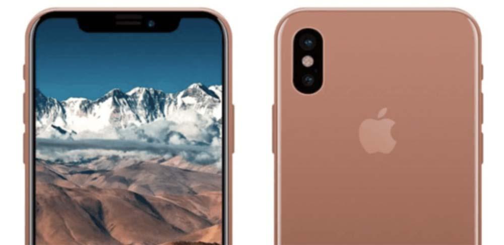 iPhone 8 : 64Go de stockage et une nouvelle couleur appelée « Blush Gold »