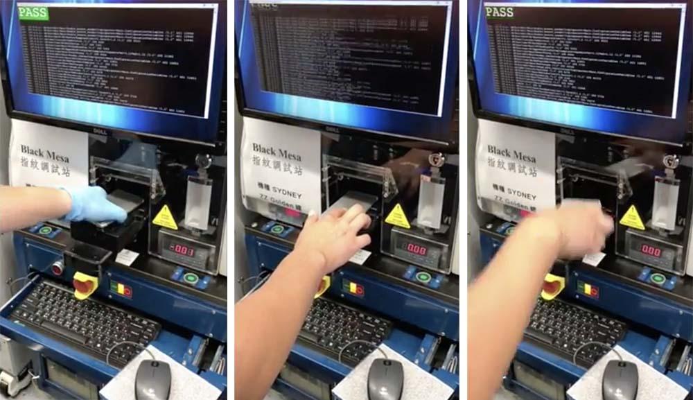 iPhone 8 : une vidéo présente le prétendu test de Touch ID au dos de l'appareil
