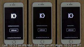 Démonstration du Jailbreak iOS 11 / iOS 10.3.2 par KeenLab [Vidéo]