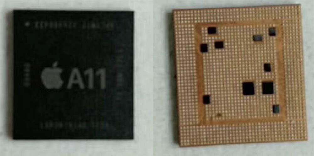 Fuite du processeur A11 du futur iPhone 8 ! [Photos]