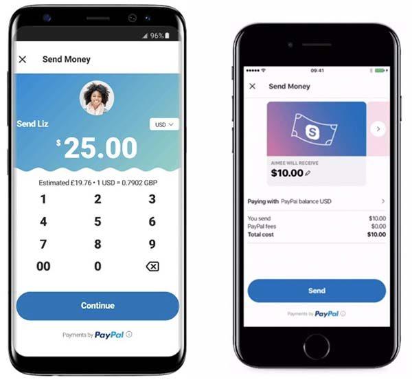 Microsoft propose d'envoyer de l'argent sur Skype avec PayPal