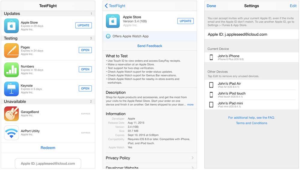 TestFlight : Apple permet maintenant d'inviter jusqu'à 10.000 bêta-testeurs
