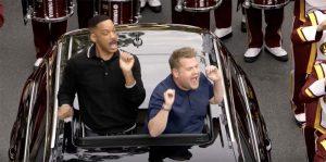 Will Smith et James Corden, en vedette dans le premier épisode de Carpool Karaoke
