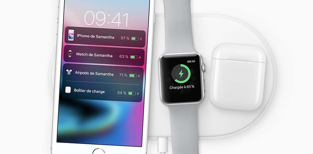 L'AirPower ne fonctionnera pas avec les Apple Watch avant la Serie 3