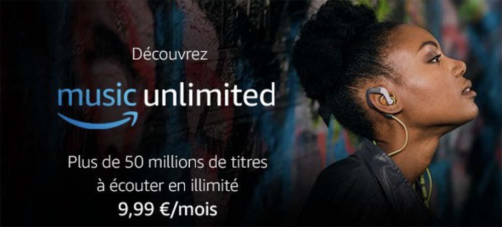 Amazon Music Unlimited débarque en France à 9,99 €/mois