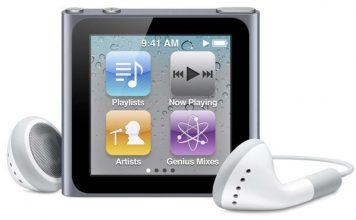 Apple met fin à l'iPod nano de sixième génération