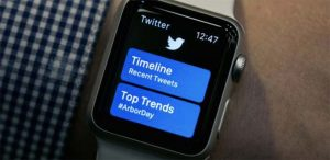 Apple Watch : Twitter s'est volatilisé d'un seul coup !