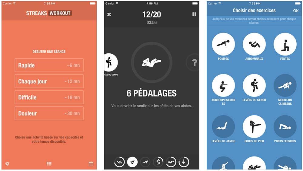App de la semaine : Apple vous offre l'application Streaks Workout