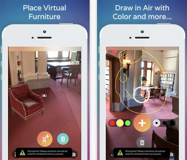 ARKit : l'application AirMeasure AR est maintenant disponible !