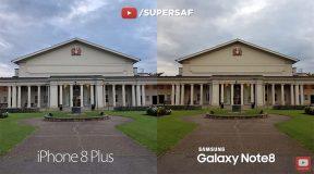 Comparaison - la caméra de l'iPhone 8 Plus face à celle du Galaxy Note8 [Vidéo]