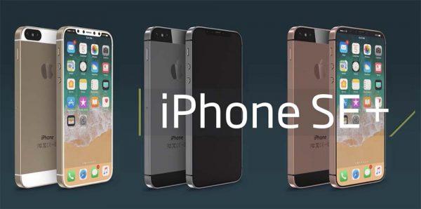 Concept d'iPhone SE+ aux allures d'iPhone X [Vidéo]